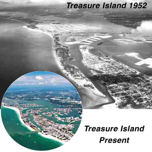 History of treasure island for Fishing treasure island florida